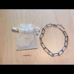 Amrita Singh Silver Chain Necklace